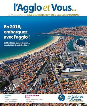 Nouveau magazine L'agglo et vous rédigé par Edito