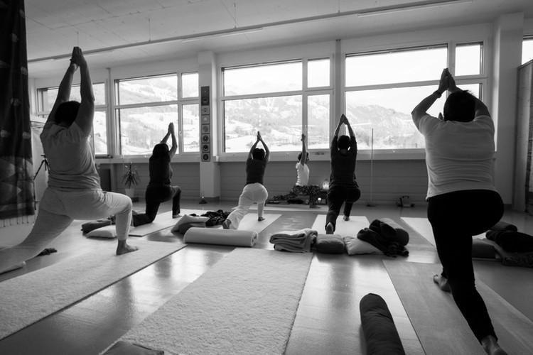 Yogastunde, Angela von Rotz, 18.01.2019