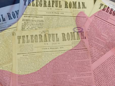 """Unirea din 1859 în ziarele Muzeului Presei """"Sever Bocu"""""""