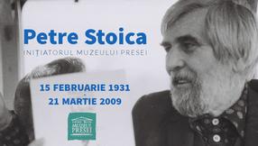 """Petre Stoica - """"un foc menit să mențină și nu să doboare"""""""