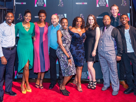 Opening Night at NYMF!