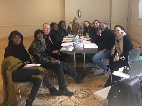 First Rehearsal Table Read