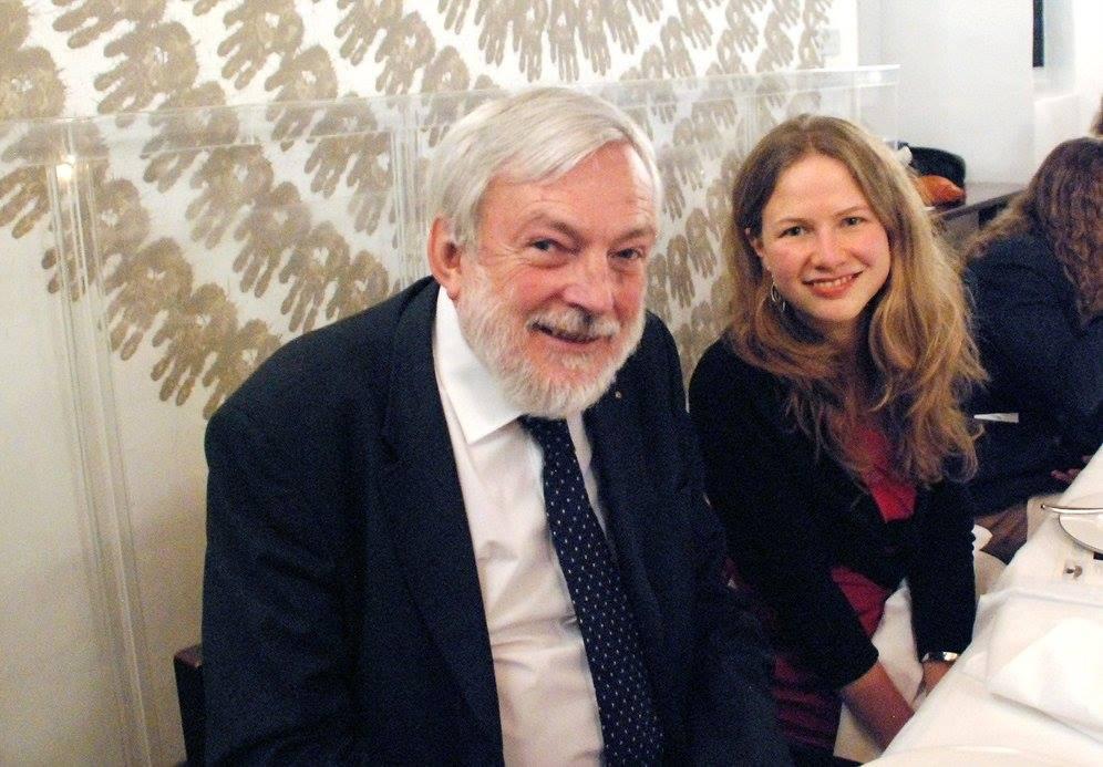 Dinner with Professor Peter Wadhams
