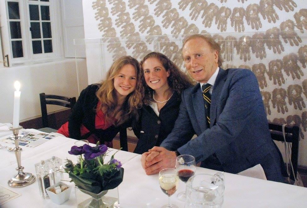 Neville Shulman at our annual dinner