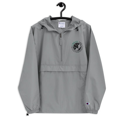 Embroidered Logo Champion Packable Jacket