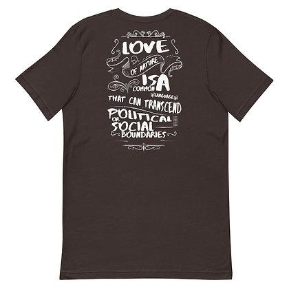 "Short-Sleeve ""Love of Nature"" T-Shirt"
