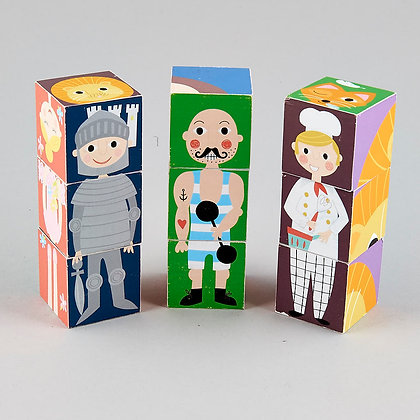 Wooden Blocks - Characters