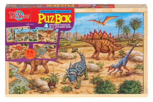 Dinosaur Jigsaw Box