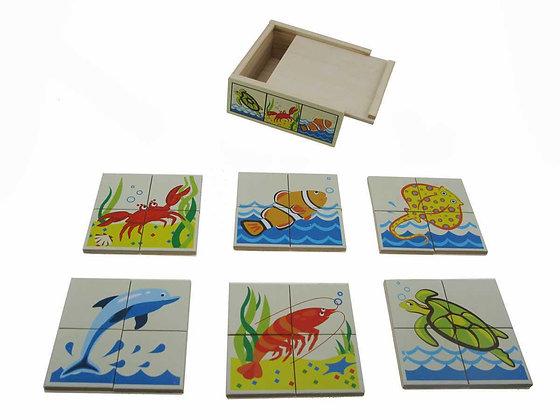 Puzzle Box Sea Creatures