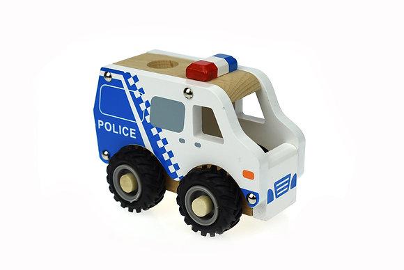 Police Car - White