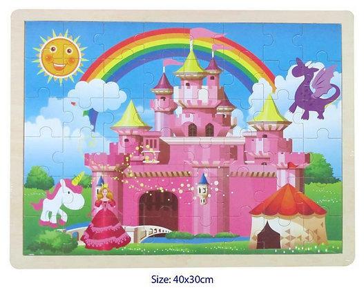 Pink Castle Puzzle