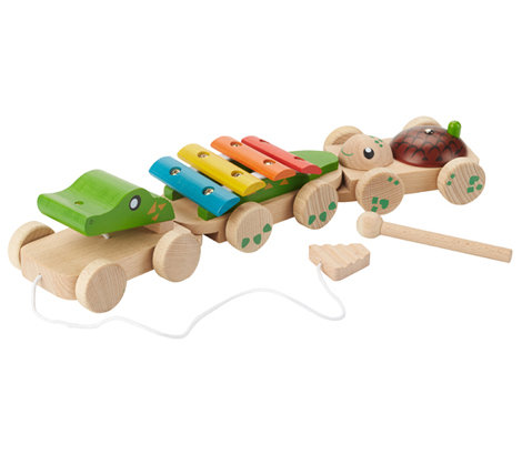 Pull Along Musical Crocodile