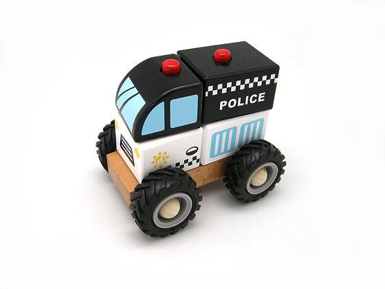 Block Police Car