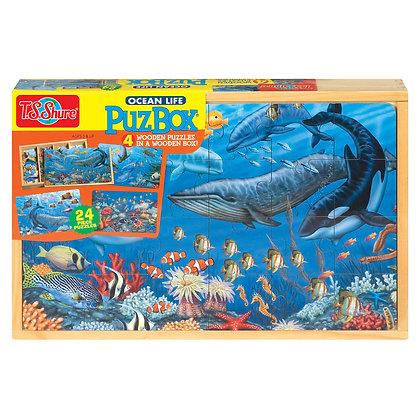 Ocean Life Jigsaw Box