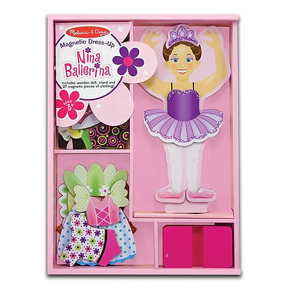 Nina Ballerina Magnetic Dress Up
