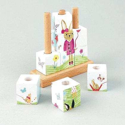 Cube Puzzle - Bunny