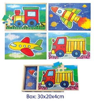 Jigsaw 4 in 1 Transport