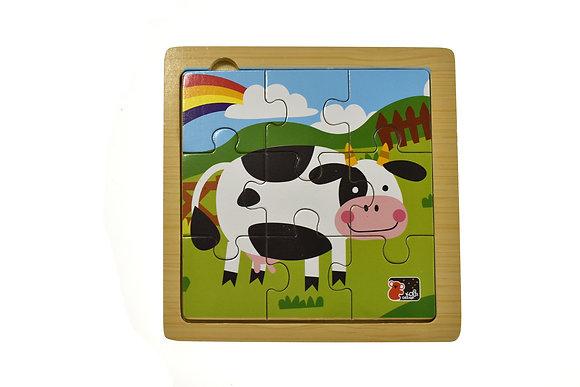 Cow 9 piece jigsaw