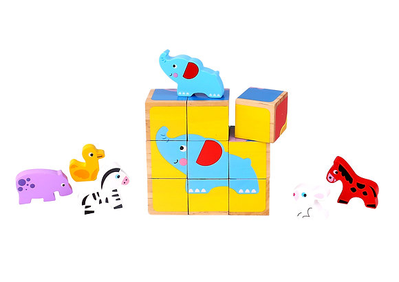Block Puzzle with Animals