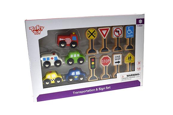 Transportation and Sign Set