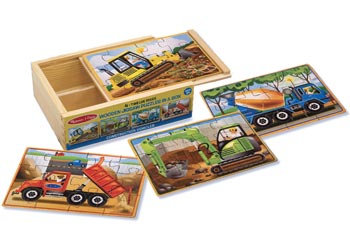 Construction Puzzles In A Box