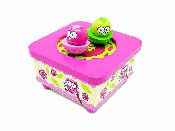 Owl Music Box