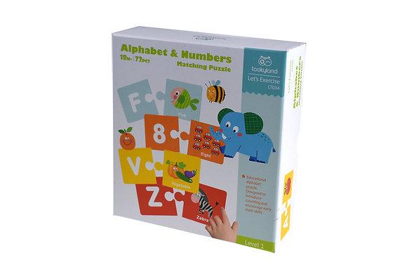 Alphabet Matching Puzzle