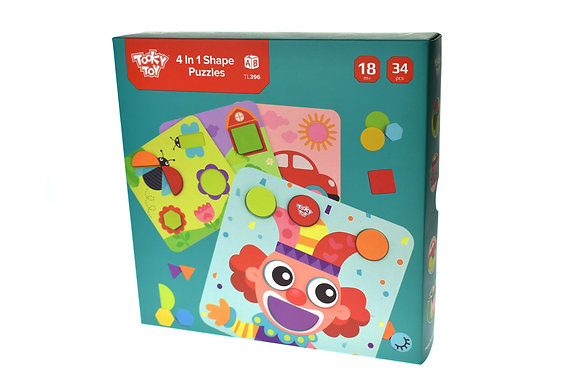 4 in 1 Shape Puzzles