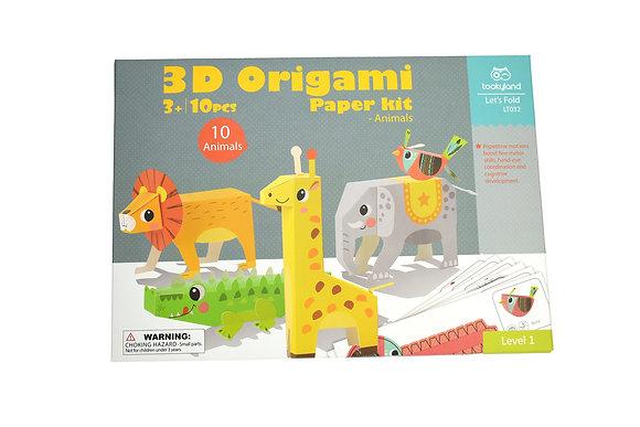 3D Paper Model Animals