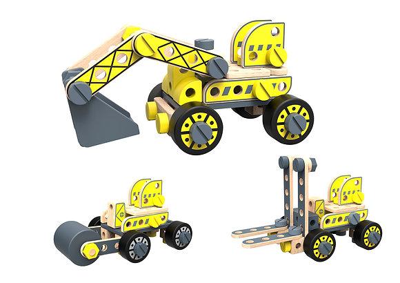 DIY Forklift & Excavator