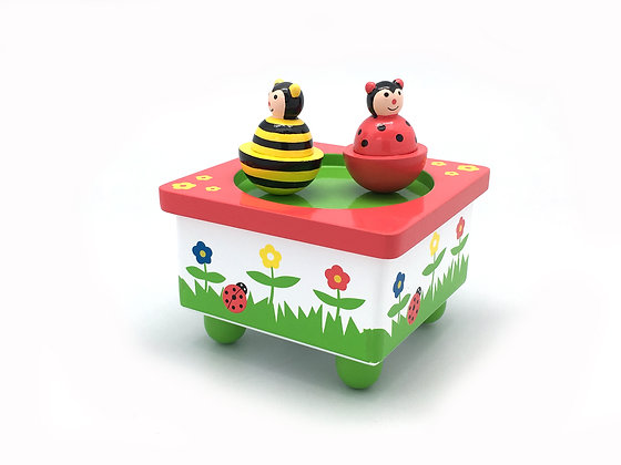 Ladybird and Bee Music Box