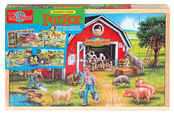 Farm Life Jigsaw Box