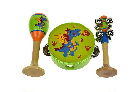 Small Musical Set - Dragon