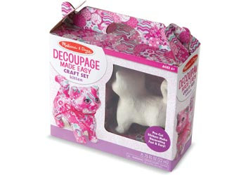 Decoupage Kitten