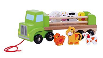 Truck with Farm Animals