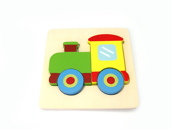 Train Chunky Puzzle