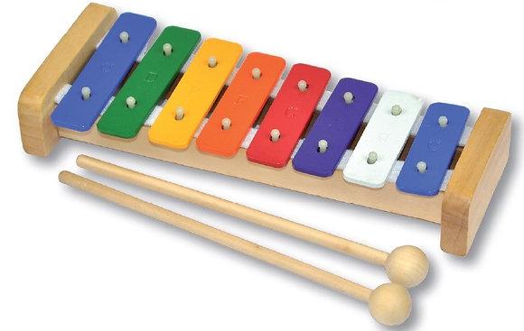 Rainbow Metal Xylophone