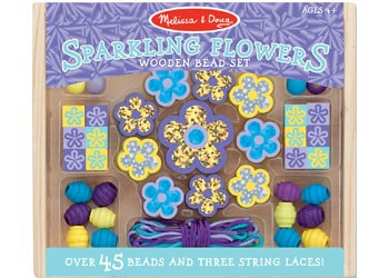 Sparkling Flowers Bead Set
