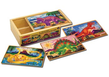 Jigsaw Puzzles in a Box - Dinosaurs