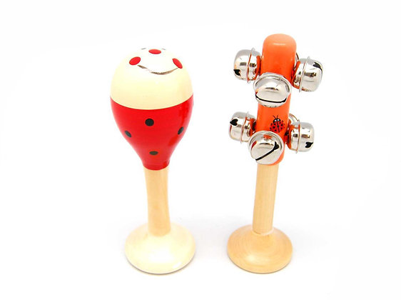 Ladybird Maraca and Bellstick