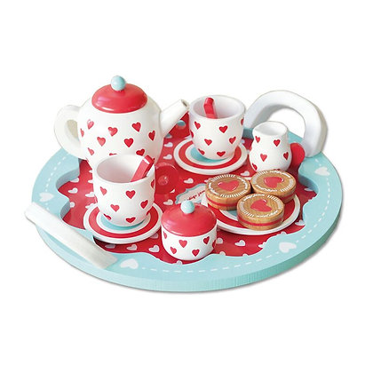 Hearts Tea Set