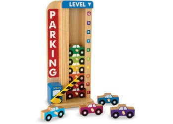 Stack and Count Parking Tower
