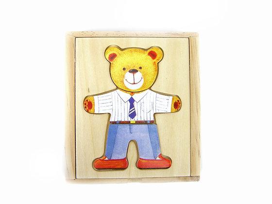 Dress Up Boy Bear