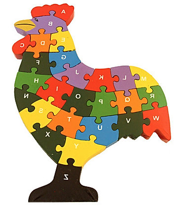 Rooster Jigsaw
