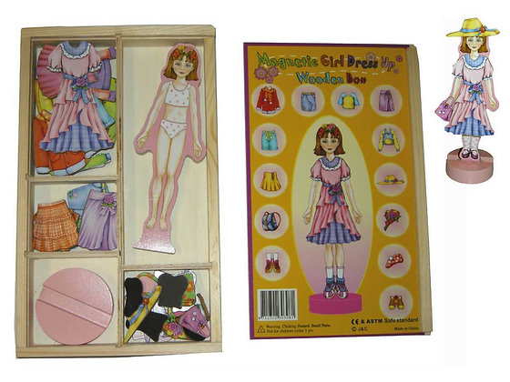 Magnetic Dress Up Girl
