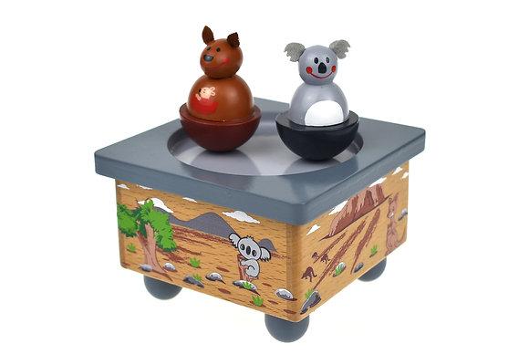 Koala & Kangaroo Music Box