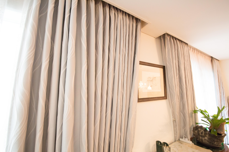 寝室オーダーカーテン