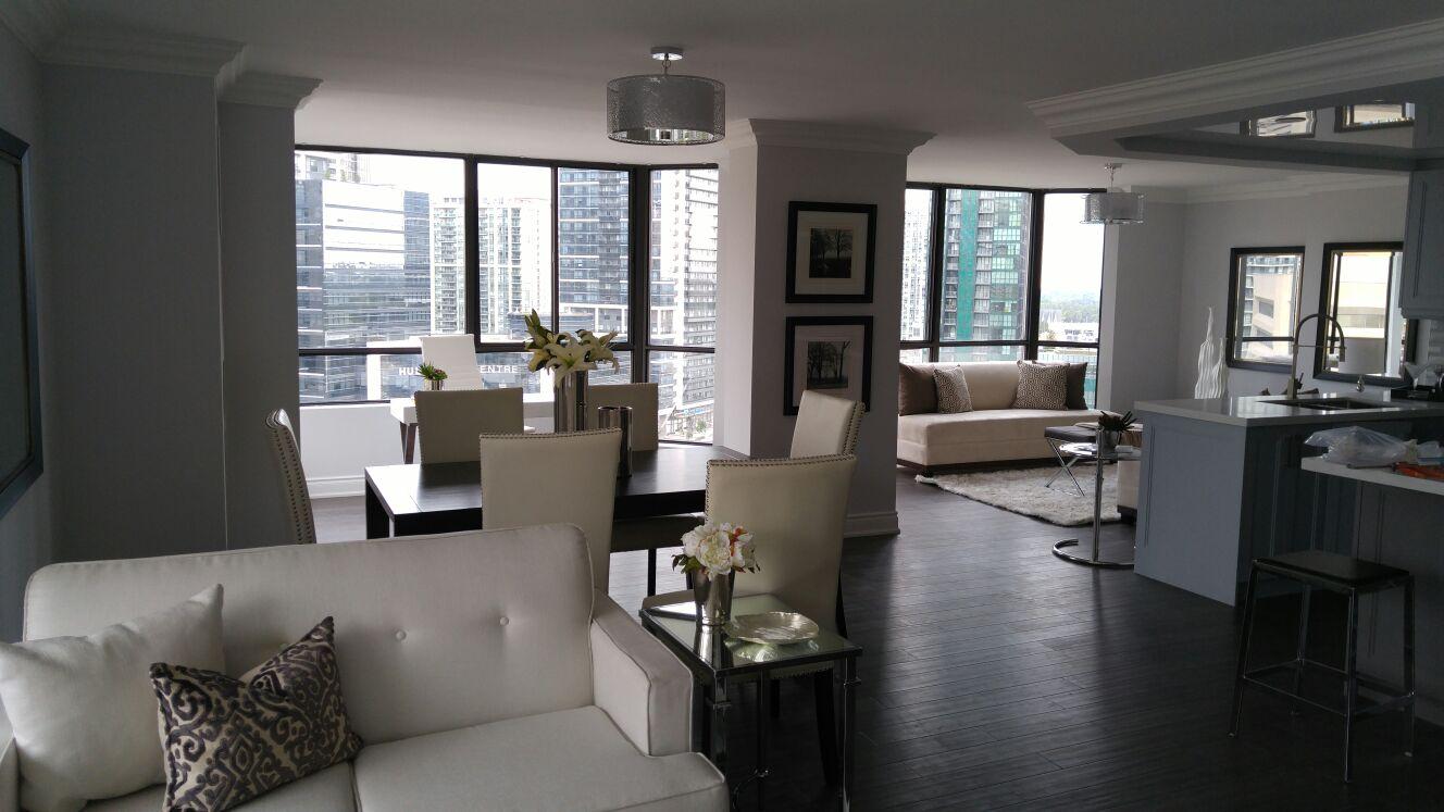 Condominium staging