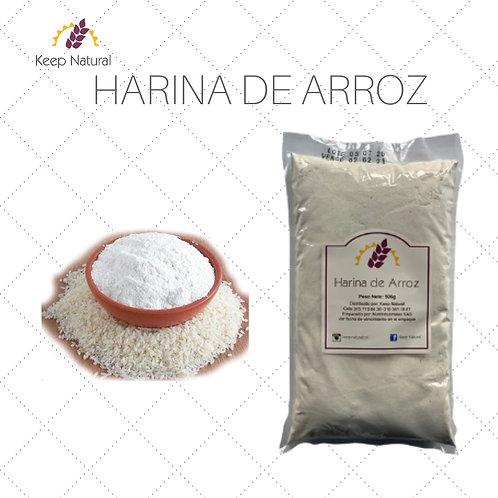 Harina de Arroz (500gr)