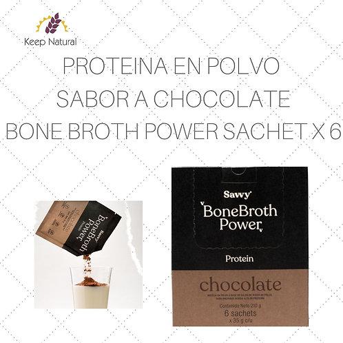 Proteina Savvy Chocolate Sachet X 6